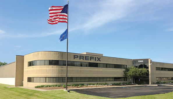 Prefix Headquarters in Rochester Hills, Michigan