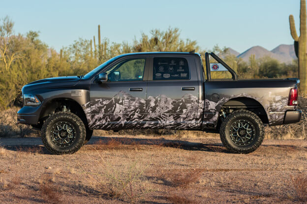 The Kryptek Edition Minotaur Truck by Prefix
