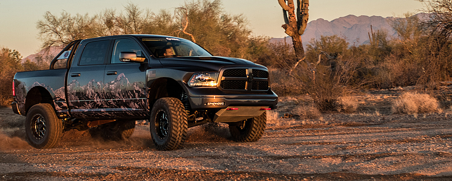 The Kryptek Edition Minotaur RAM 1500 truck conversion by Prefix